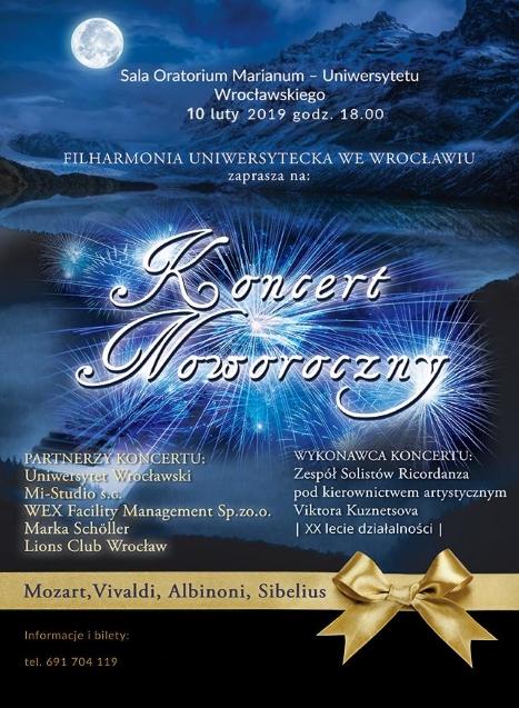 koncert noworoczny Wrocław