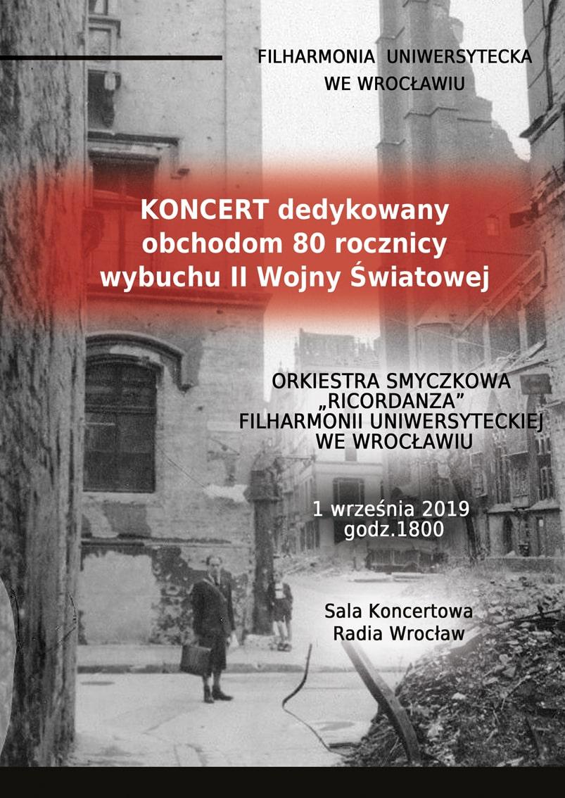 Filharmonia Uniwersytecka kocert 01.09.2019