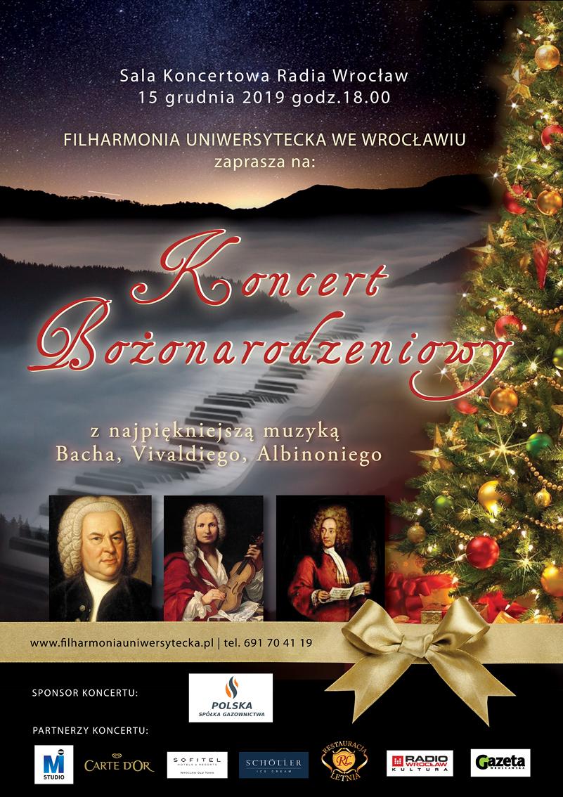 Filharmonia Uniwersytecka koncert 15.12.2019